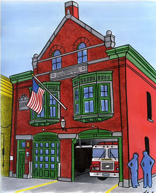 Engine 4, Lowell, Massachusetts