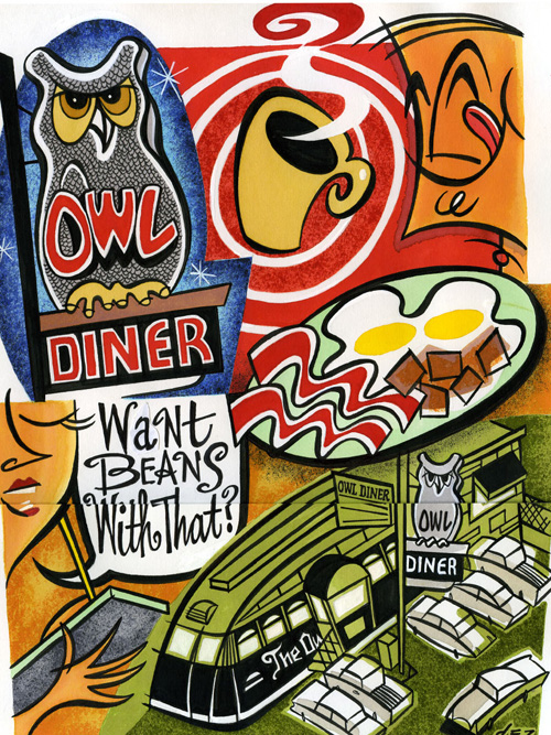 Owl Diner, Lowell, Massachusetts